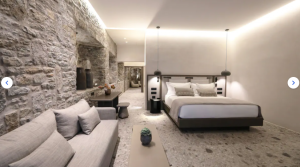 Stone Suite with Plunge Pool, Garden view