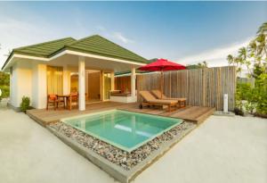Sunset Pool Beach Villa